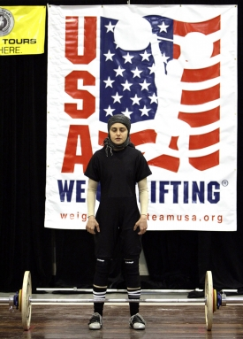 Nationals Abdullah Weightlifting