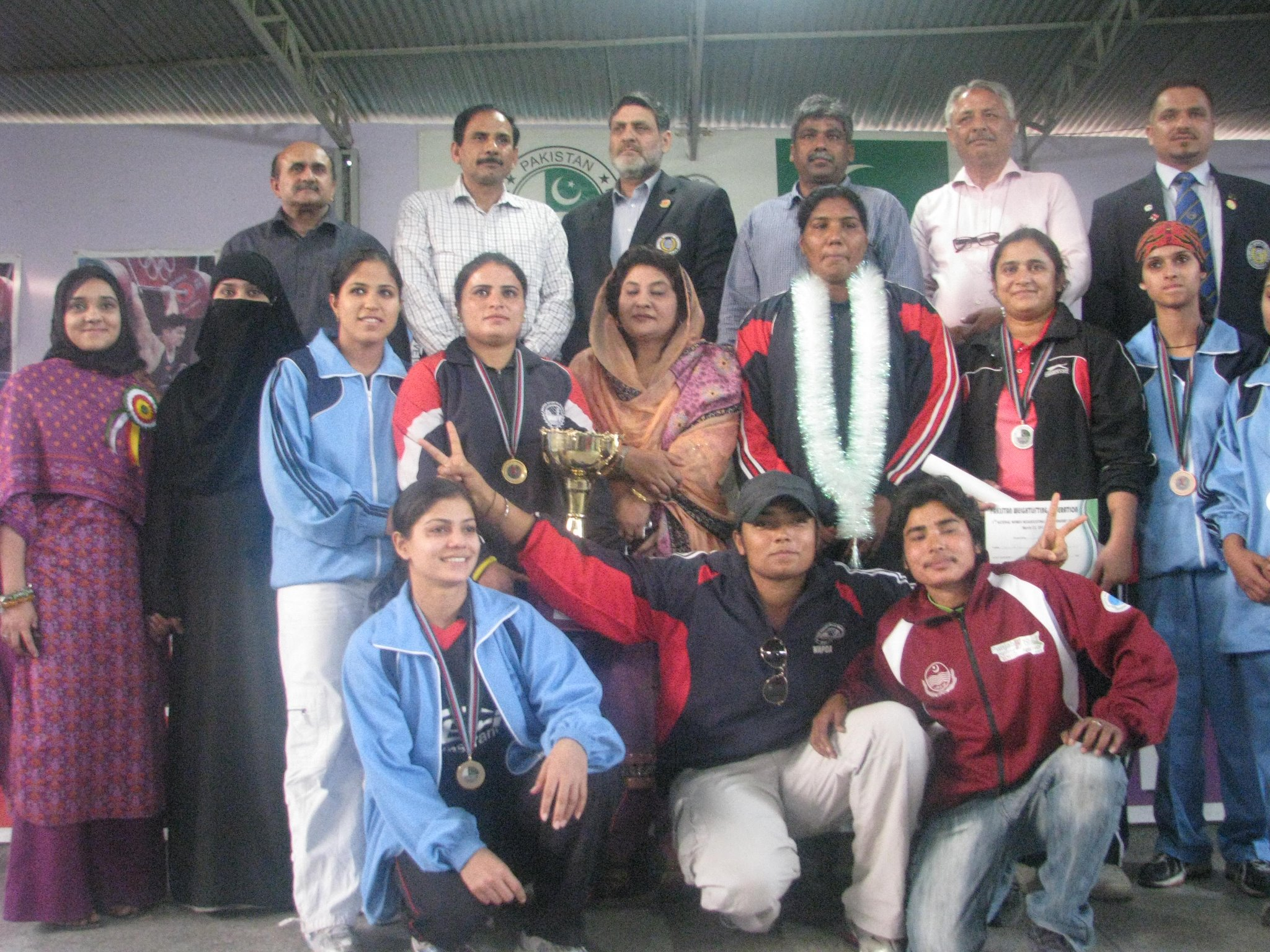 1st Pakistan Women's National Weightlifting Championships & War Eagle Open competitions
