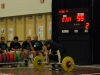 55kg clean and jerk attempt